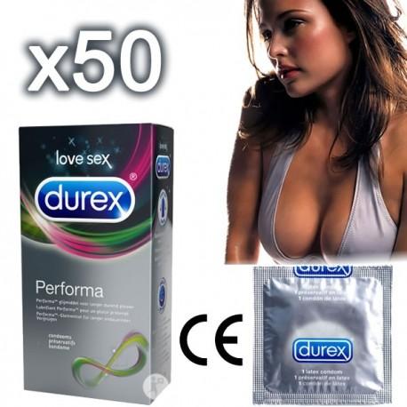 Préservatifs Durex Performa Retardants - Retardent l'éjaculation