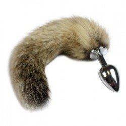 Tailbud plug anal queue de renard 30cm