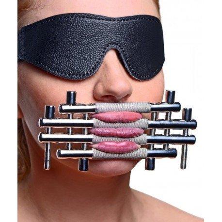 Shut up ! Presse de langue - Accessoire de torture & soumission BDSM