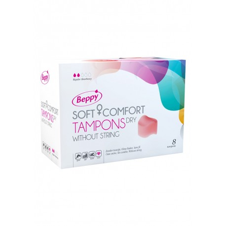Beppy Comfort Tampons - Tampons hygiéniques pénétration