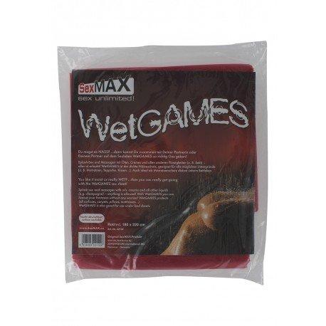 SexMax BedSheet WetGame - Draps vinyl pour jeux sexuels - 180x220