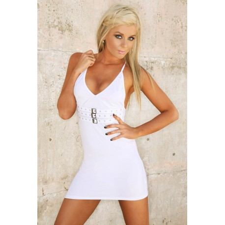 Robe de soirée ClubWear : Ultra White