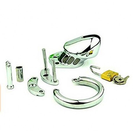 CB-6000 Cage de chasteté - Inox médical grade