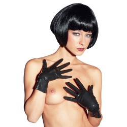 Gants BDSM - latex brillants