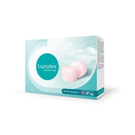 6 Gynotex Soft Tampons - Permettant la pénétration pendant les règles