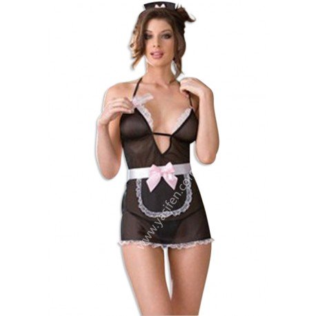 Nuisette French Maid sexy, soubrette sexy