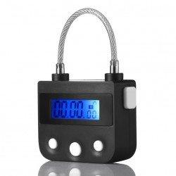 Cadenas de chasteté électronique timer ouverture a retardement digital