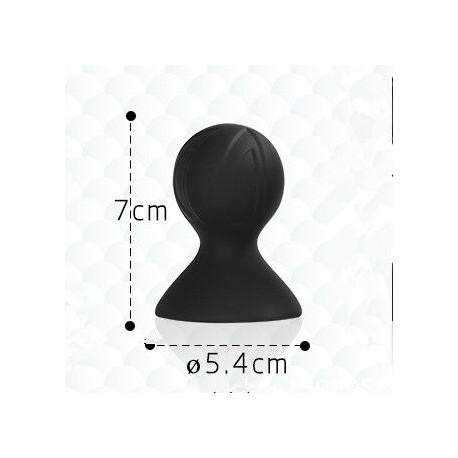 Un plug boule couleur noire qui reste fixé en main