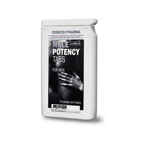 Gélules érection Male Potency Tab de Coolman pour bander dur