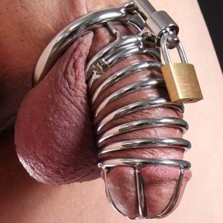 The snake - cage de chasteté pour homme tubulaire