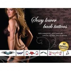 Tatouages Temporaires Sexy - Bas du dos