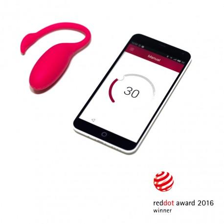Oeuf vibrant connecté bluetooth & wifi - Flamingo