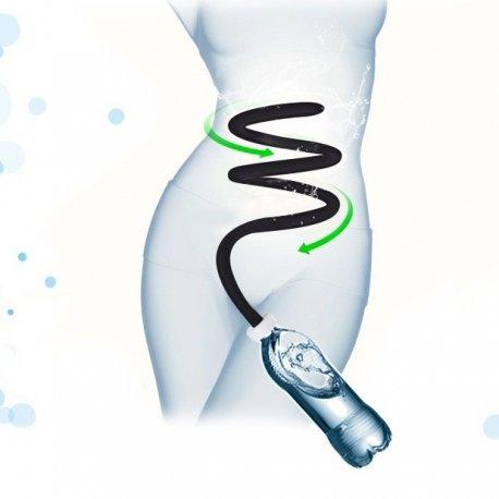 Adaptateur tuyau de lavement anal sur bouteille d'eau ou douche