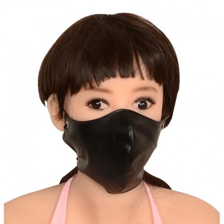 Masque en cuir BDSM, Bondage
