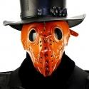 Masque docteur de peste à piques, idéal pour shooting ou séance SM