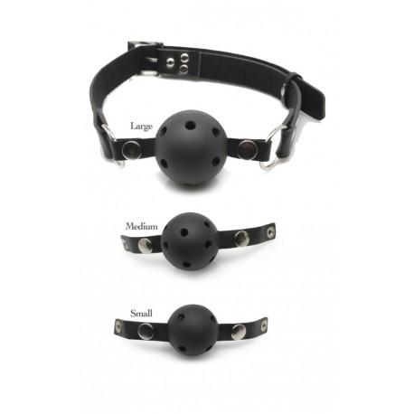 Kit de Ball Gag - Bâillon : 3 Taille différentes