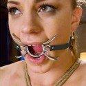 Spider Gag : Gag anneau pour bouche ouverte avec pattes