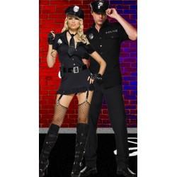 Robe de Policière Sexy