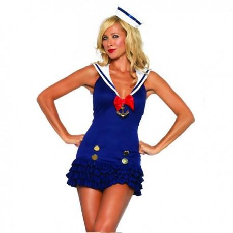 Costume de matelot marin sexy pour femme !