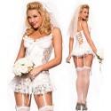 Guêpière - robe de mariée sexy