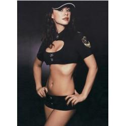 Costume policière : Brassière et mini short - Deux flics à Miami !