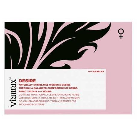 Viamax Desire - Aphrodisiaque pour femme