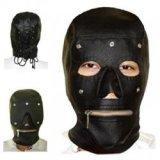 Cagoule avec masque détachable et bouche zippée