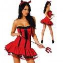 *** discontinued *** Costume de diablesse sexy rouge