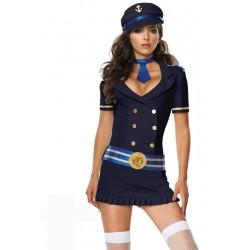 Costume : Tailleur jupe de matelote sexy !
