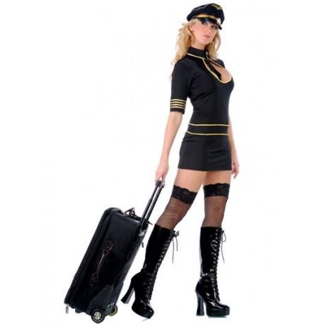 Costume d'hôtesse de l'air sexy