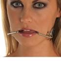 Gag crochet de bouche BDSM - Souriez !