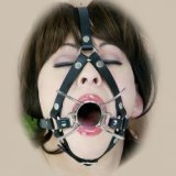 Harnais spider gag : pour bouche ouverte