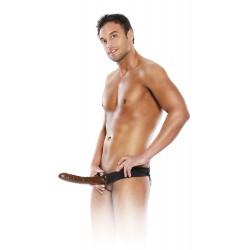 Extension de pénis : gode ceinture creux homme
