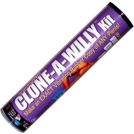 Clone a willy kit - Moulage de votre pénis : Vibromasseur god vibrant / Chocolat / Bougie / Savon