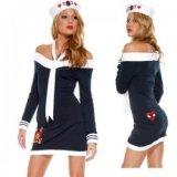 Déguisement - Costume : Robe moulante de marin, matelote sexy !